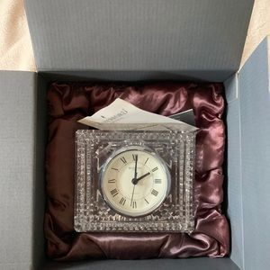 AUTHENTIC WATERFORD CLOCK